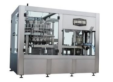 Automatic Sauce / Liquid / Wine Filling And Capping Machine Line